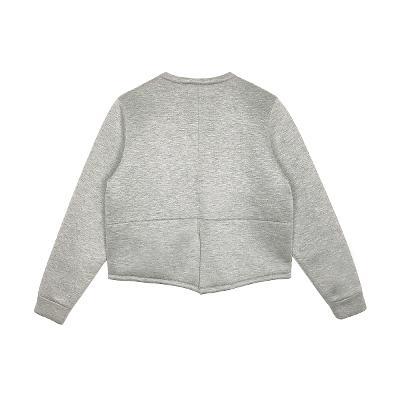 short zip up jumper
